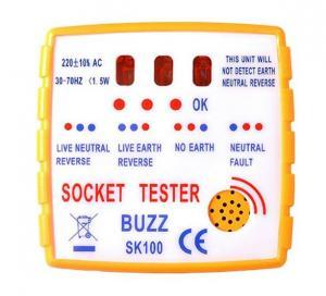 China British Standard Plug and Socket Tester on sale