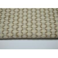 Quality Blended Linen Jacquard Fabric / Thick Cotton Fabric Skin - Friendly For Clothing for sale