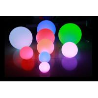Quality IP65 16 Color Changing LED Night Light Battery Operated / LED Floating Ball for sale