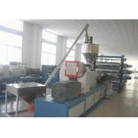 China PVC Imitation Marble Plastic Sheet Extrusion Line / Production Line Double Screw on sale