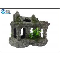 Buy Hand Painted Resin Aquarium Decoration Elegant Magic Wizard Castle at wholesale prices