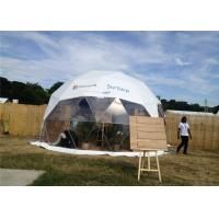 Buy cheap Semi - Permanent 10m Diameter Geodesic Dome Tent Party Steel Structure For Gathering from wholesalers