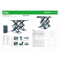 Quality 1460mm Platform Length 3.2T Ultra Thin 2.2KW Electric Scissor Lift for sale