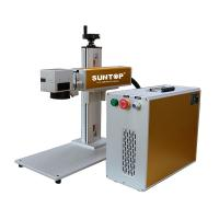 Quality Aluminium Portable Laser Marking Machine / Portable Laser Cutter Small Drilling for sale