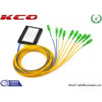 Buy Optical Fiber Splitter 2X8 / Fiber Optic Splitter Loss Fiber To The Home Type at wholesale prices