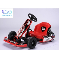 Quality 22KM/H 8 Years Old Kids Electric Go Kart With Simulated Pedal for sale