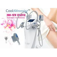 Quality 4 Handles Cryo Fat Freezing Machine Equipped With Self Cleaning System for sale