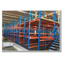 China Customize Mezzanine Storage System Attic Shelves Racks Cold Rolled Steel Q235 on sale
