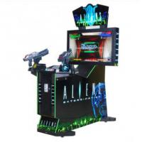 Quality Coin operated electronic Arcade Aliens Extermination shooting game machines indoor 42LCD simulator gun shootin for sale