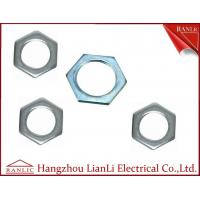 Quality 20mm to 50mm Hot Dip Gal GI Hexagon Locknut 3.0mm to 6.0mm Thickness for sale