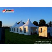 Quality Clear Door Beer Festival Tent Temporary Tent Dia 6M With Sandwich Panel Wall for sale