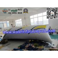 Quality 0.9mm PVC  Inflatable Water Blob Pillow , Inflatable Water Toys For Lake for sale