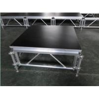 Quality 6082-T6 Aluminum Movable Stage Platform / 1.22 X 1.22m Outdoor Portable Stage for sale