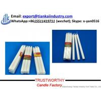 Buy wholesale stick white paraffin wax candle for home decoration at wholesale prices