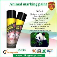 Quality Livestock / Animal Marking Spray Paint 750ml , High Reflective Spray Paint ISO / CE for sale