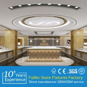 Quality Titanium Alloy Glass Display Showcase for sale