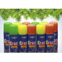 Buy cheap Colorful Non Flammable EN71 Party String Spray from wholesalers