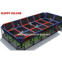 Buy cheap New Popular Design Trampolines For Kids For Amusement Park from wholesalers