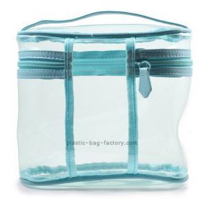 Buy cheap Multi-functional Transparent PVC Cosmetic Bag Makeup Storage Bag Clear Vinyl Toiletry Bag from wholesalers
