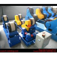 Quality 80 Ton Full-Automatic VFD Control Pipe Welding Rotators For Cylinder Seam Welding for sale