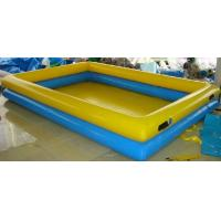Quality Double Layers Inflatable Water Pool 15*10m Blow Up Swimming Pools For Adults for sale