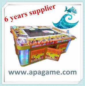 Quality 8P four shark legend ocean king ocean hunter arcade fishing game machine for sale