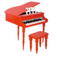 Quality Red / Black Childrens Wooden Grand Toy Wooden Piano / Mini Piano Set FW30B for sale