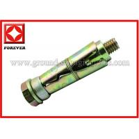 China Construction Machinery Bucket Bolt , Stainless Steel Elevator Bolts on sale