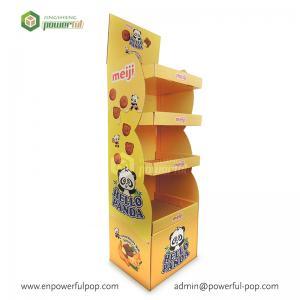 POS Cardboard Display, Chips Cardboard Display Stand, Cardboard Floor Display