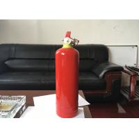 Quality 1kg Dry Powder Fire Extinguisher Red Portable Fire Fighting Equipment For Car for sale