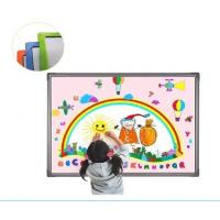Quality high quality 96 inches aluminum frame infrared smartboard for schools using for sale