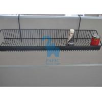 Buy Grid Grocery Store Display Racks , Steel Wire Display Racks Hanging Basket at wholesale prices