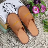 China Fashion Terry Towel Slippers , Color Cutomized Disposable Cheap Hotel Slippers on sale