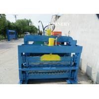 Quality Color Trapezoidal IBR Steel Roof Roll Forming Machine Hydraulic Cutting Device for sale