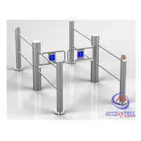 Quality Automatic Flexible Running Swing Turnstile Durable Stainless Steel for Stores , Supermarket for sale