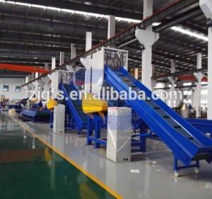 China FANGSHENG film plastic recycle machine/pe pp woven bag washing line on sale