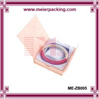 Buy Buy lady bracelet paper jewelry gift box/Custom paper cardboard box ME-ZB005 at wholesale prices