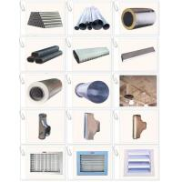 Quality Marine ventilation pipe: Pre-insulated pipe,spiral reducer,air grill,sliding point, expansion joint, air diffuser for sale