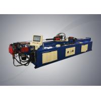 Automatic pipe bending machine with PLC system controller for steel racks manufacturing