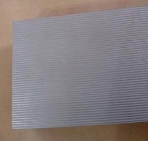 Quality Hydrogen fuel cell bipolar plate porous titanium, porous metal corrugated board TA1 TA2 for sale