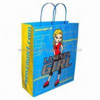 Quality Promotion paper shopping bag, fancy design, low price, Eco-friendly for sale