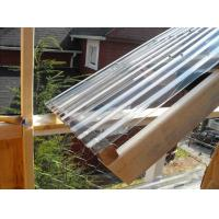 Quality Clear Lexan Corrugated Polycarbonate Panels , Corrugated Skylight Panels for sale
