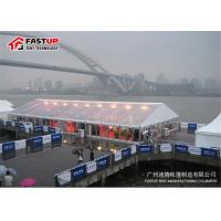 Quality PVC Cover Transparent Wedding Tent , 15 Meter Clear Marquee Tent No Deformation for sale