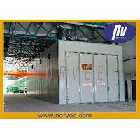 Quality OEM Electric Manual Steel Shot Sandblasting Room For Iron Rust Remover for sale