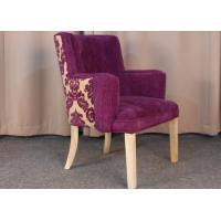Quality Classic Modern Fabric Armchairs For Living Room With Solid Oak Wood for sale