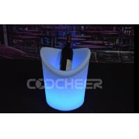 Quality Rechargeable Remote Control Lighted Ice Bucket Ip68 1 - 2  Bottles for sale