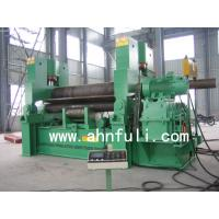 Quality Hydraulic three roller plate rolling machine,Hydraulic symmetric plate bending machine for sale
