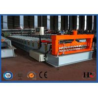 Quality Automatic Corrugated Roof Roll Forming Machine , Roof Sheet Making Machine for sale