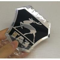 Quality New model Custom Chrome plastic ABS car badges emblems and auto car logo metal emblems badge factory for sale