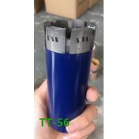 Quality Dia 56mm Diamond PDC Drill Bit Forging Processing For Medium / Super Hard Formations for sale